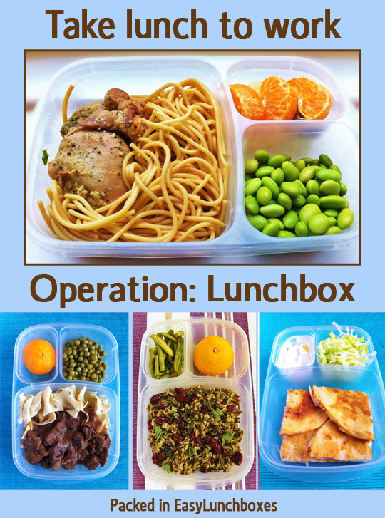 Healthy Packed Lunches For Work  Even more lunch box ideas for work EasyLunchboxes