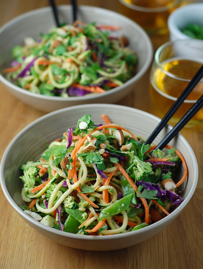 Healthy Pad Thai Sauce  Raw Pad Thai with Spicy Almond Sauce – Turnip the Oven