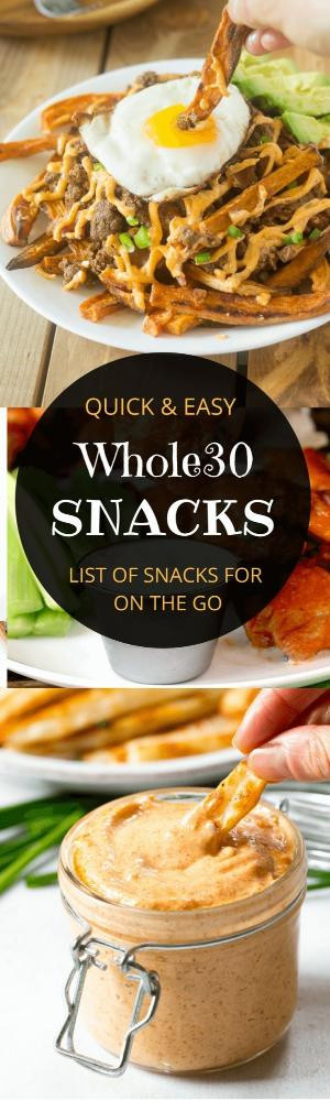 Healthy Paleo Snacks  Snack Prep on Healthy Momma How to plan snacks and meals