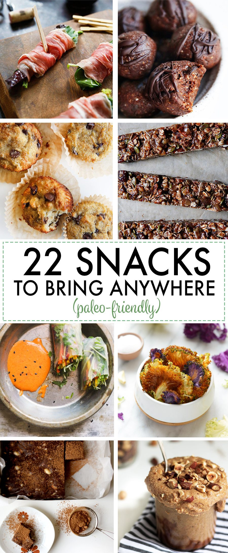 Healthy Paleo Snacks  22 Paleo friendly Snack Recipes You Can Bring Anywhere