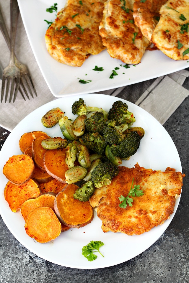 Healthy Pan Fried Chicken  Best Ever Paleo Pan Fried Chicken Kim s Cravings