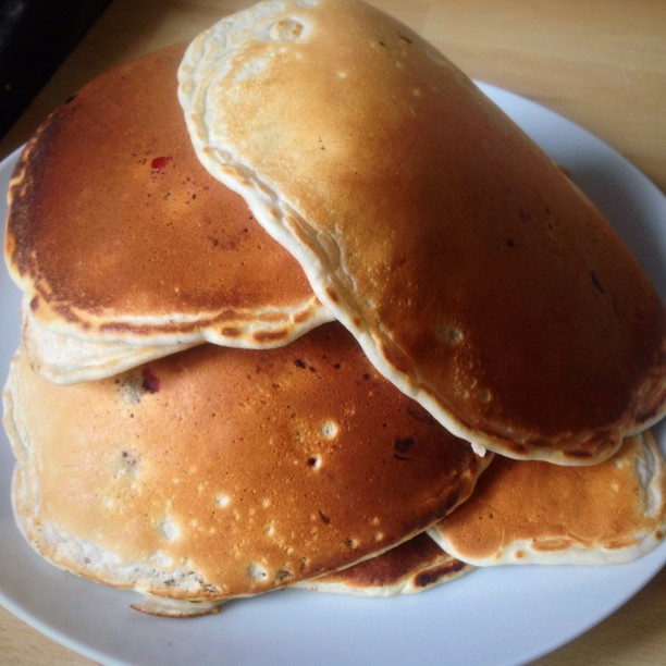 Healthy Pancakes From Scratch  1 2 3 Easy to Make from Scratch Healthy Blueberry Pancakes