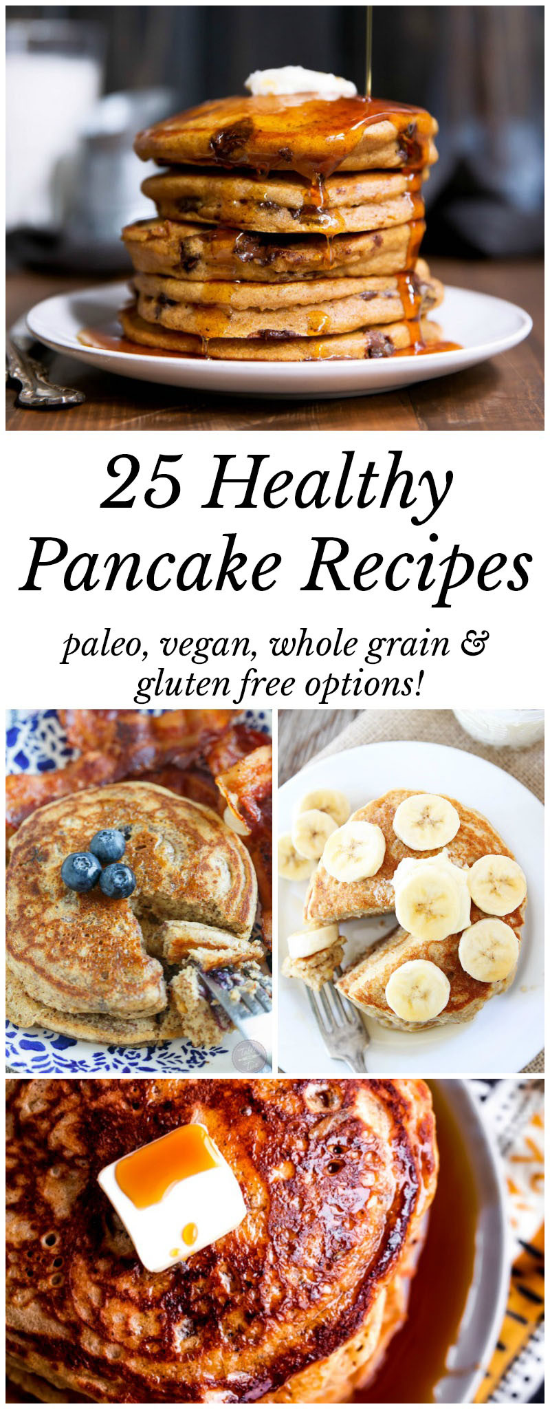 Healthy Pancakes Recipe  25 Healthy Pancake Recipes Worth Waking Up For