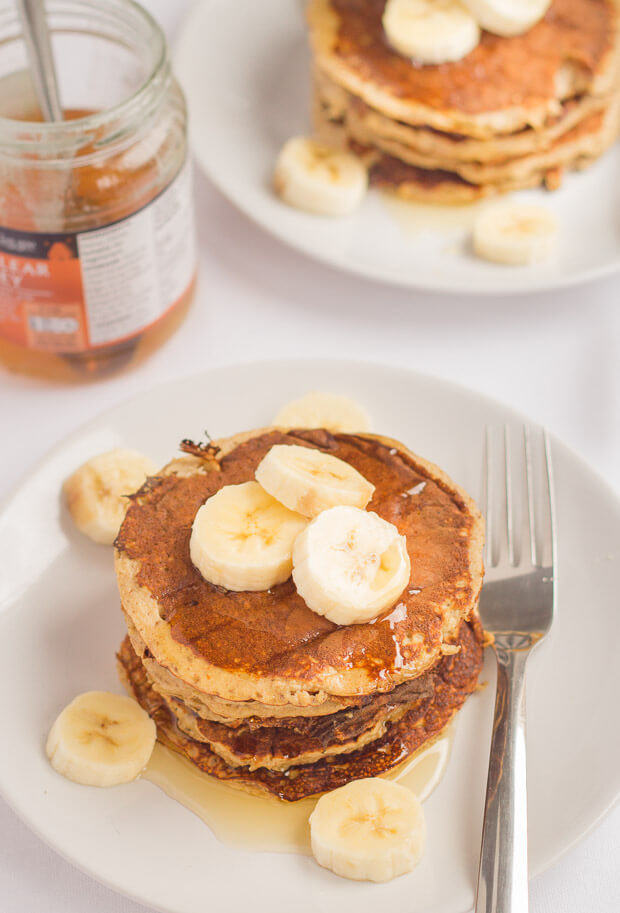 Healthy Pancakes With Oats  Banana Oat Pancakes Neils Healthy Meals