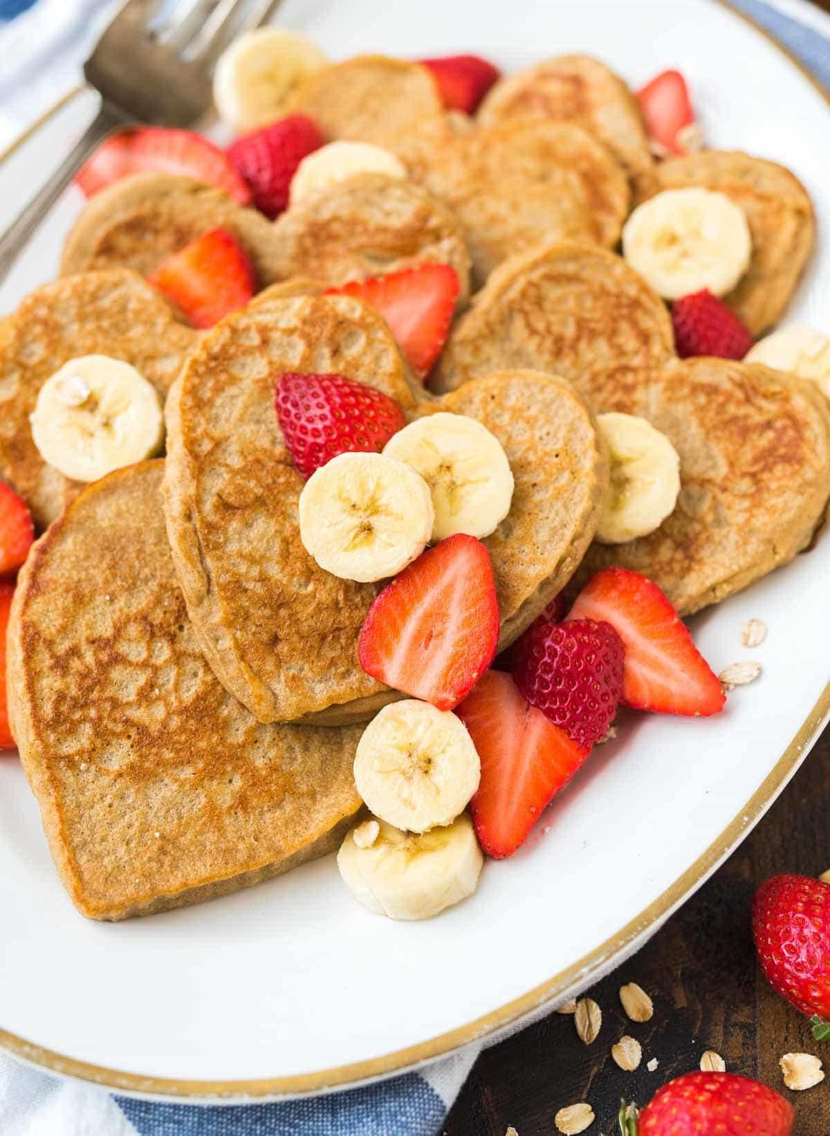 Healthy Pancakes With Oats  Banana Oatmeal Pancakes