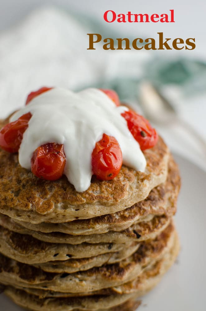 Healthy Pancakes With Oats  Healthy Oatmeal Pancakes Recipe