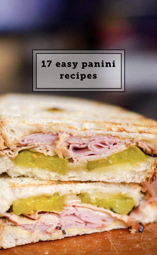 Healthy Panini Recipes  100 Panini recipes on Pinterest