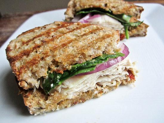 Healthy Panini Recipes  Turkey Caprese Panini Recipe