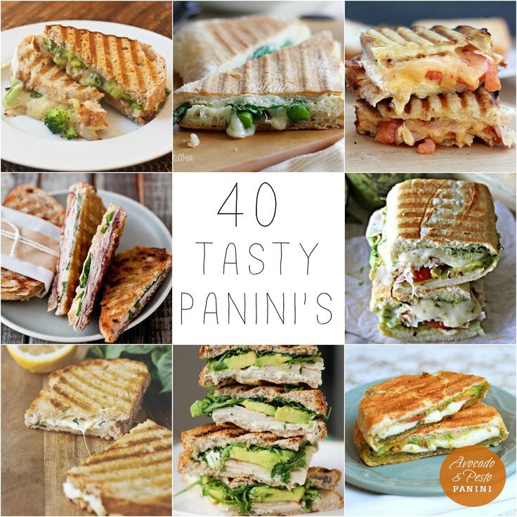 Healthy Panini Recipes  Best 25 Healthy panini recipes ideas on Pinterest
