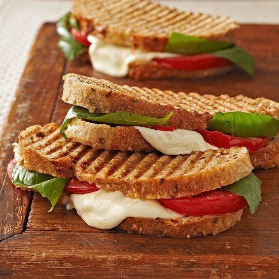 Healthy Panini Recipes  25 best ideas about Caprese panini on Pinterest