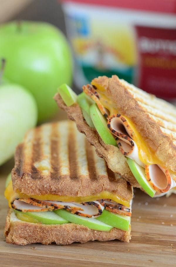 Healthy Panini Recipes  Apple Cheddar and Turkey Panini – Dan330
