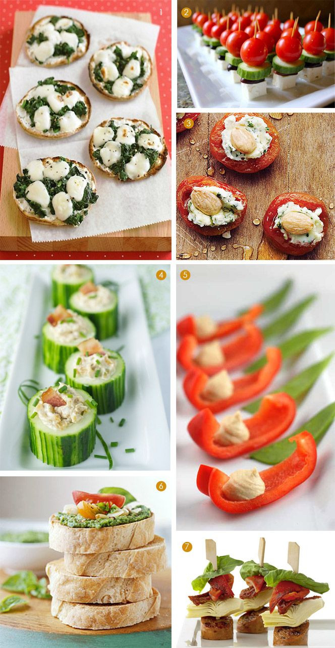 Healthy Party Appetizers  Healthy mini appetizers Fitness Recipes