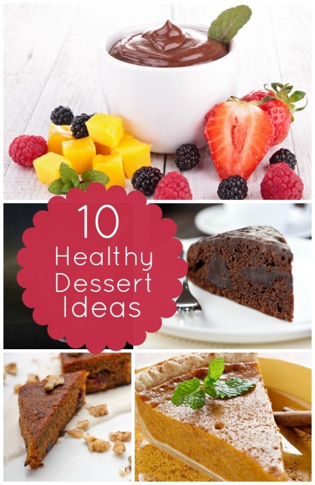 Healthy Party Desserts  10 Healthy Dessert Recipes Spaceships and Laser Beams