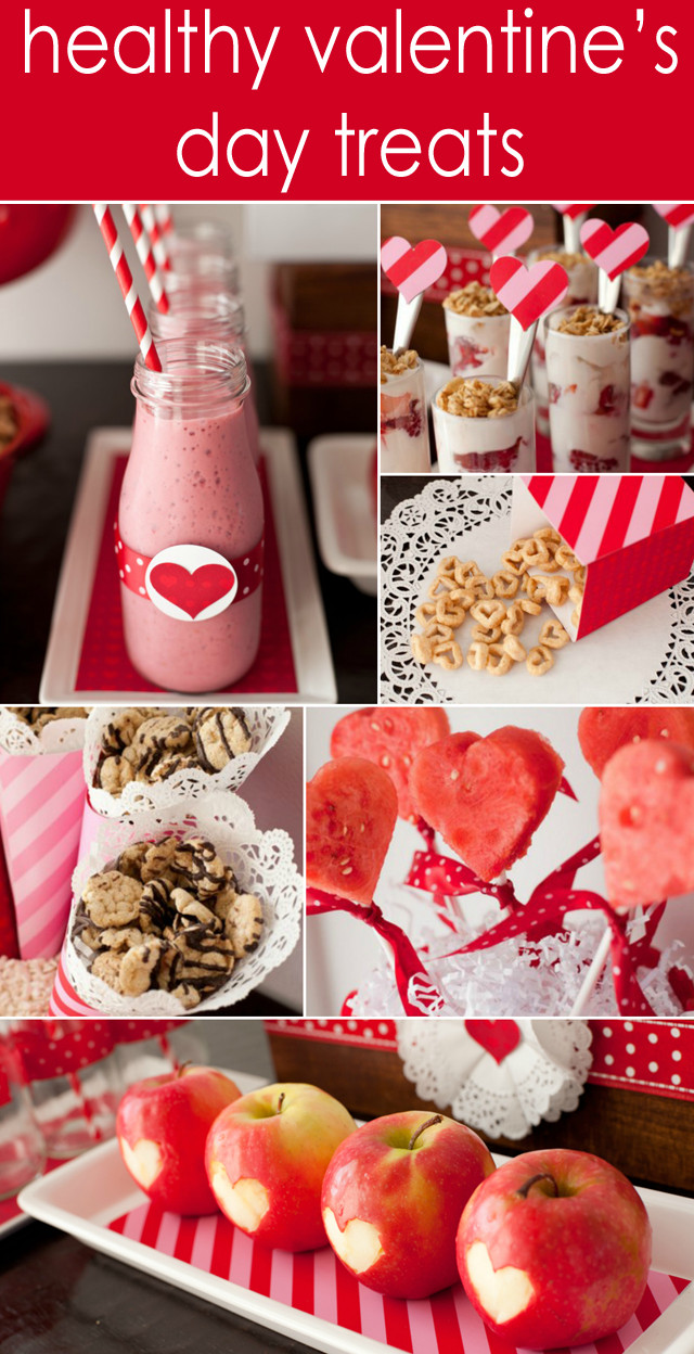 Healthy Party Desserts  Healthy Valentine s Day Treats