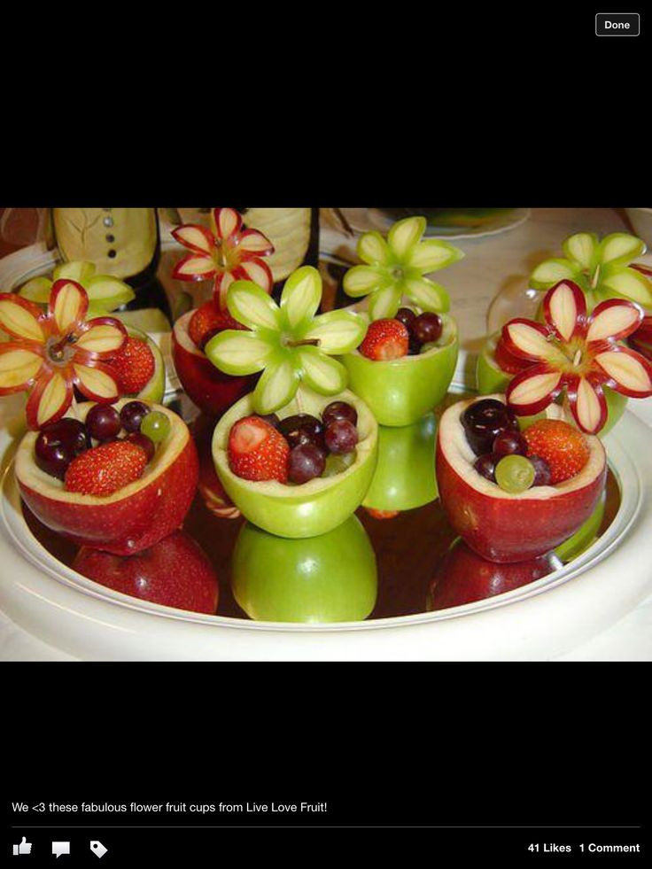 Healthy Party Desserts  Healthy party food Food Pinterest
