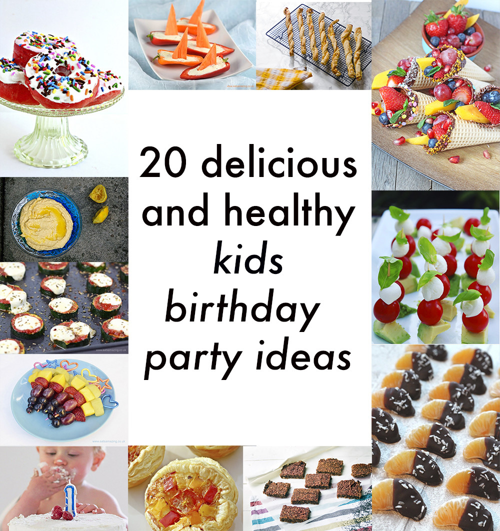 Healthy Party Snacks For Kids  Healthy kids party food 20 delicious ve arian recipes