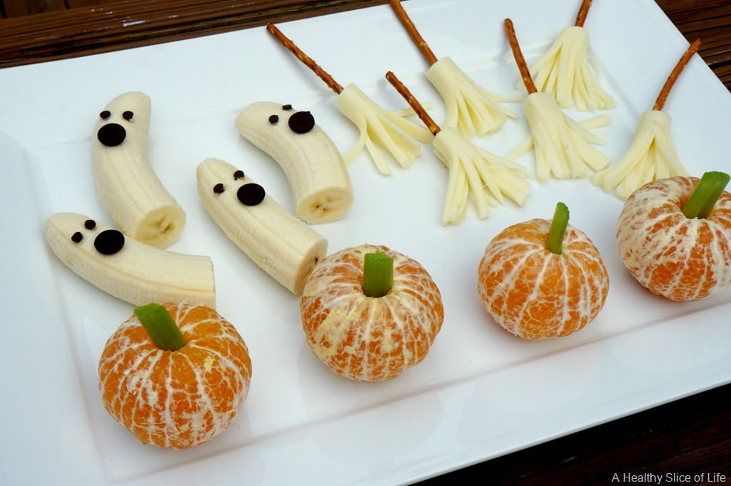Healthy Party Snacks For Kids  Healthy Halloween Goo s for Kids