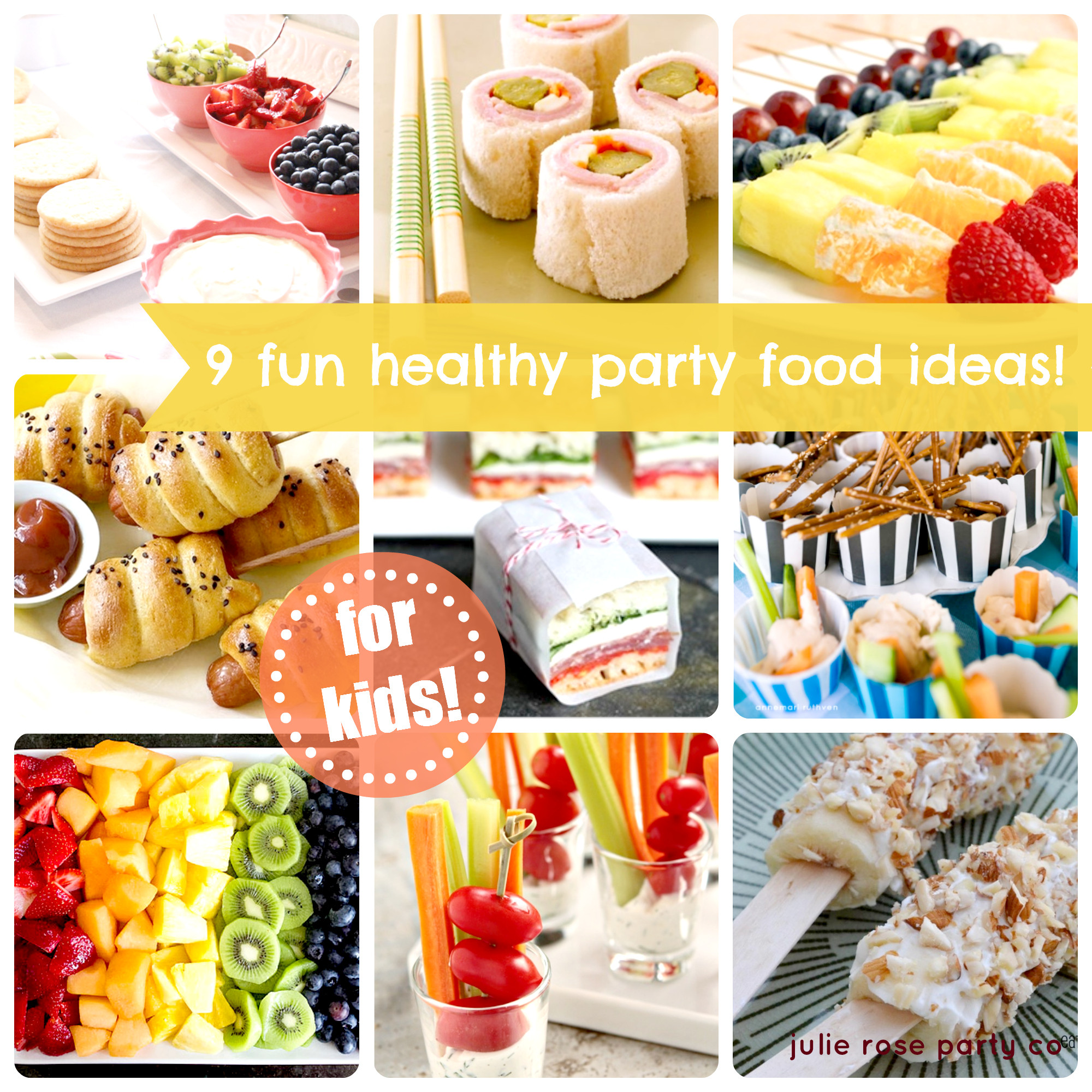 Healthy Party Snacks For Kids  9 fun and healthy party food ideas kids