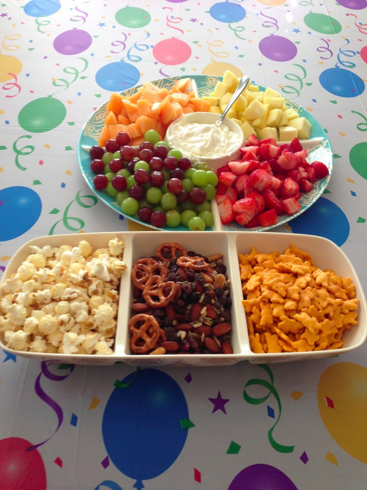 Healthy Party Snacks For Kids  Fit n Busy Mama Healthy Kids Birthday Party