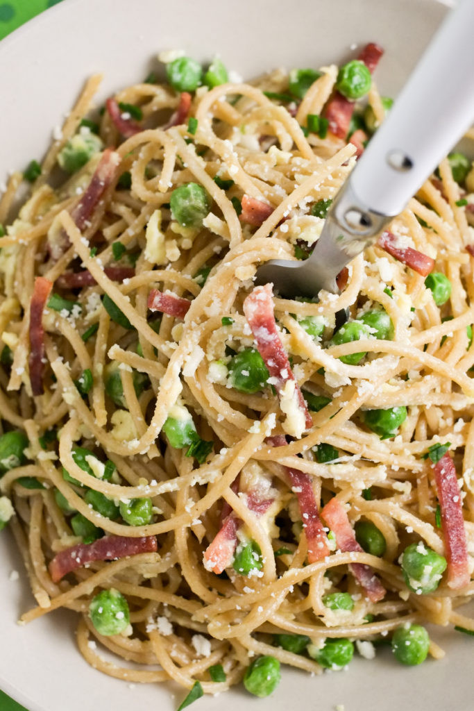 Healthy Pasta Noodles  Healthy Italian Spaghetti Carbonara Recipe