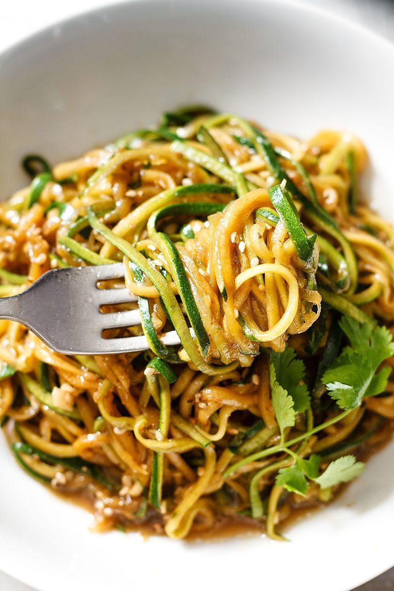 Healthy Pasta Noodles  zucchini pasta recipe
