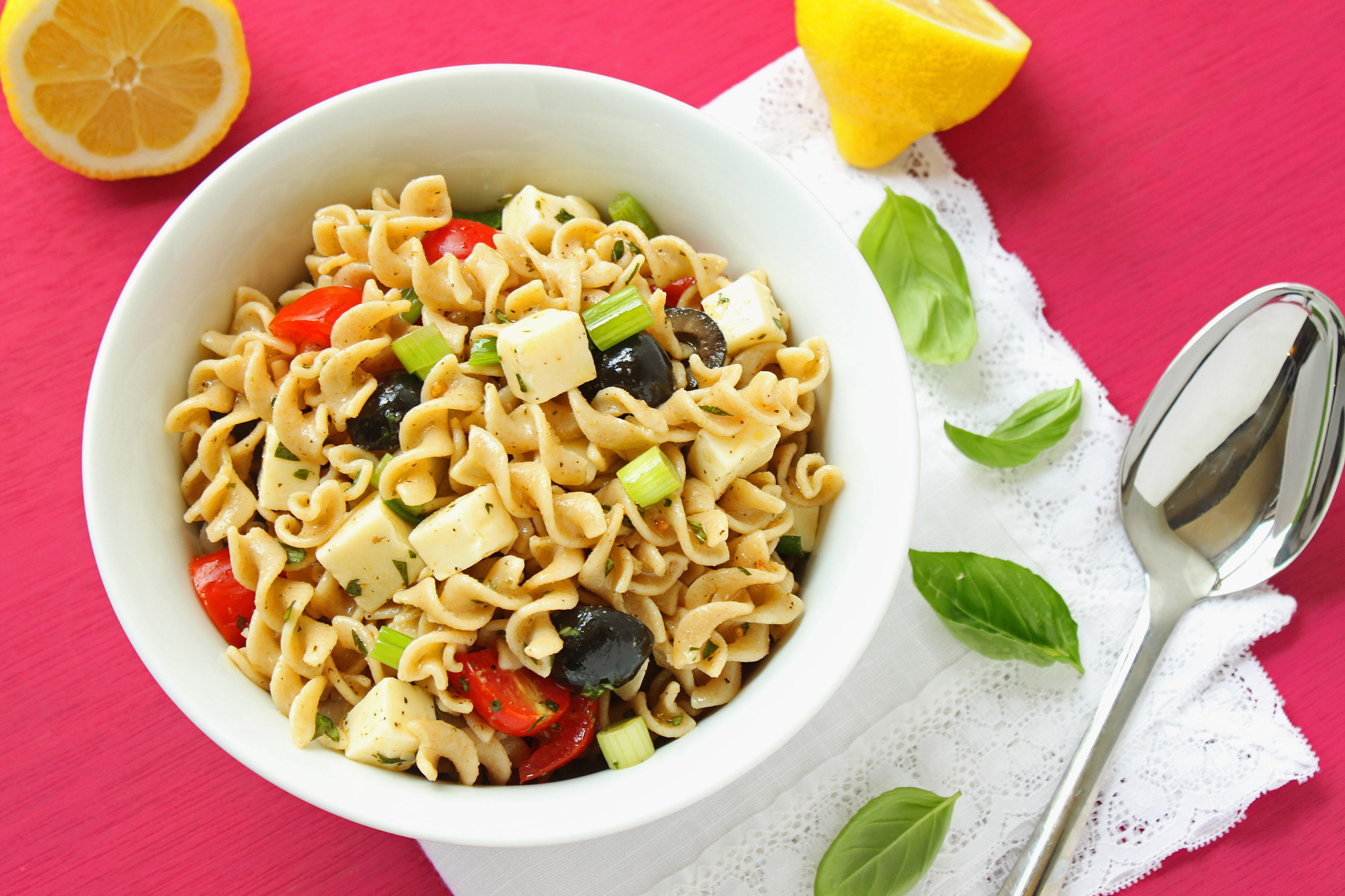 Healthy Pasta Salad  Simple Tips to prepare healthy pasta – What Woman Needs