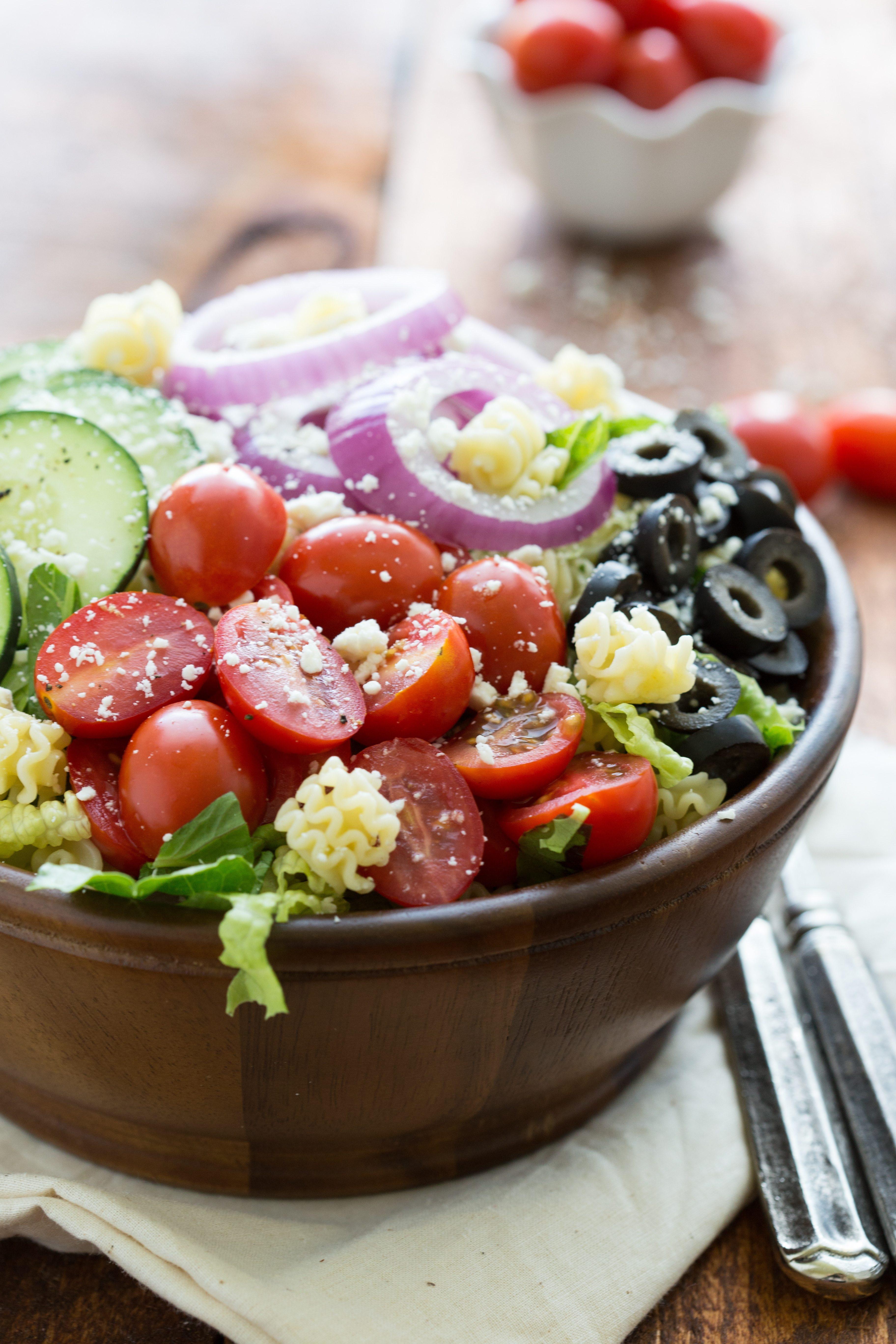 Healthy Pasta Salad Dressing  Greek Pasta Salad Chelsea s Messy Apron