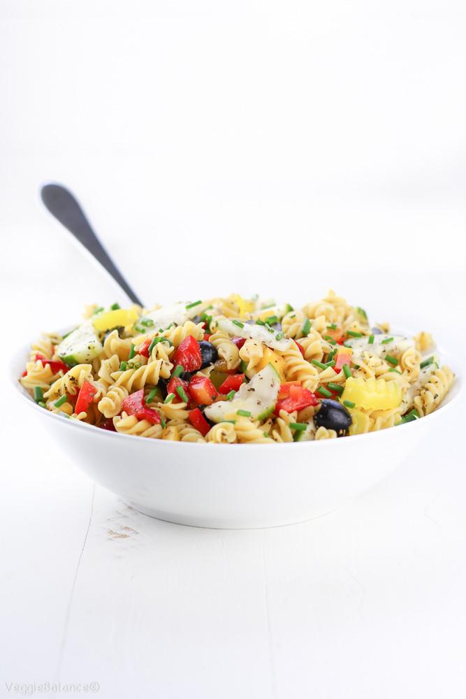 Healthy Pasta Salad Dressing  healthy pasta salad dressing recipe