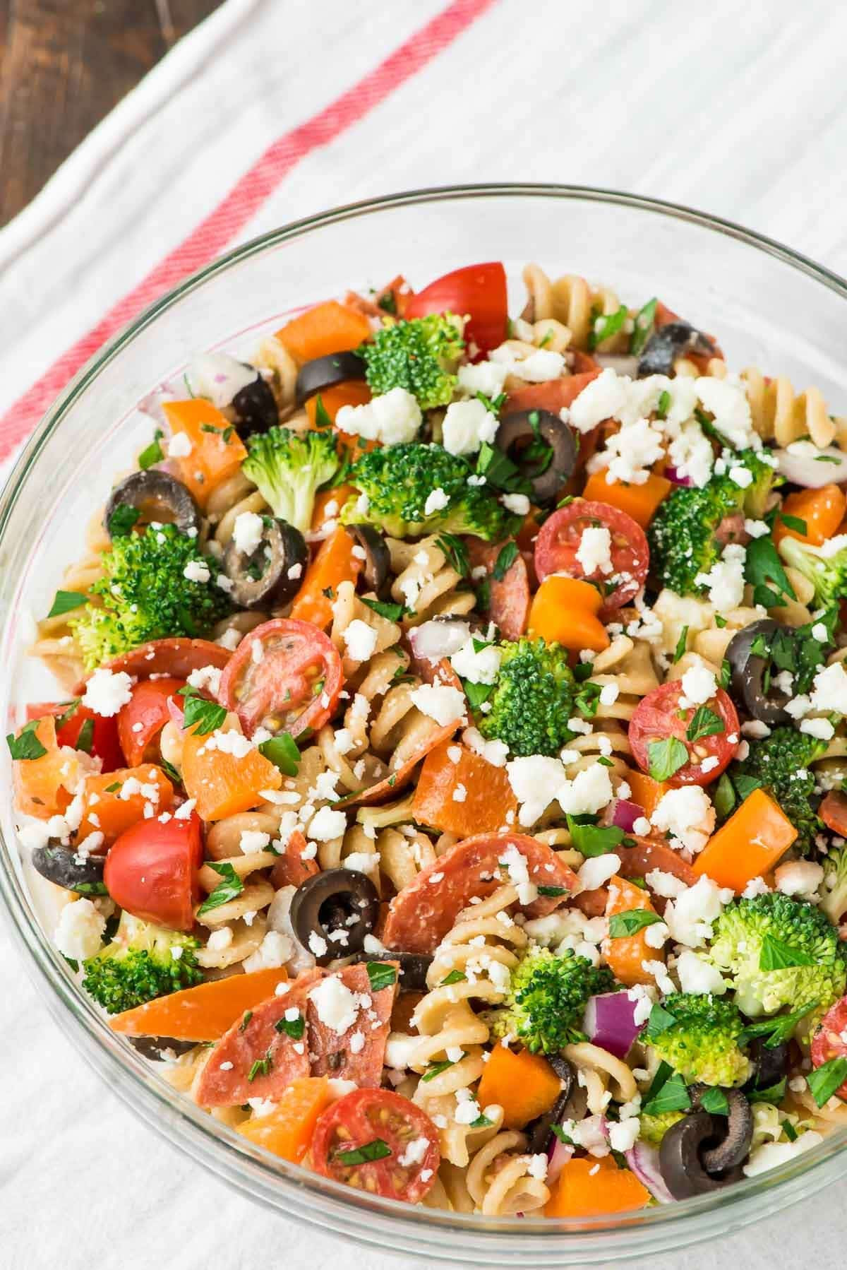 Healthy Pasta Salad Dressing  healthy pasta salad dressing