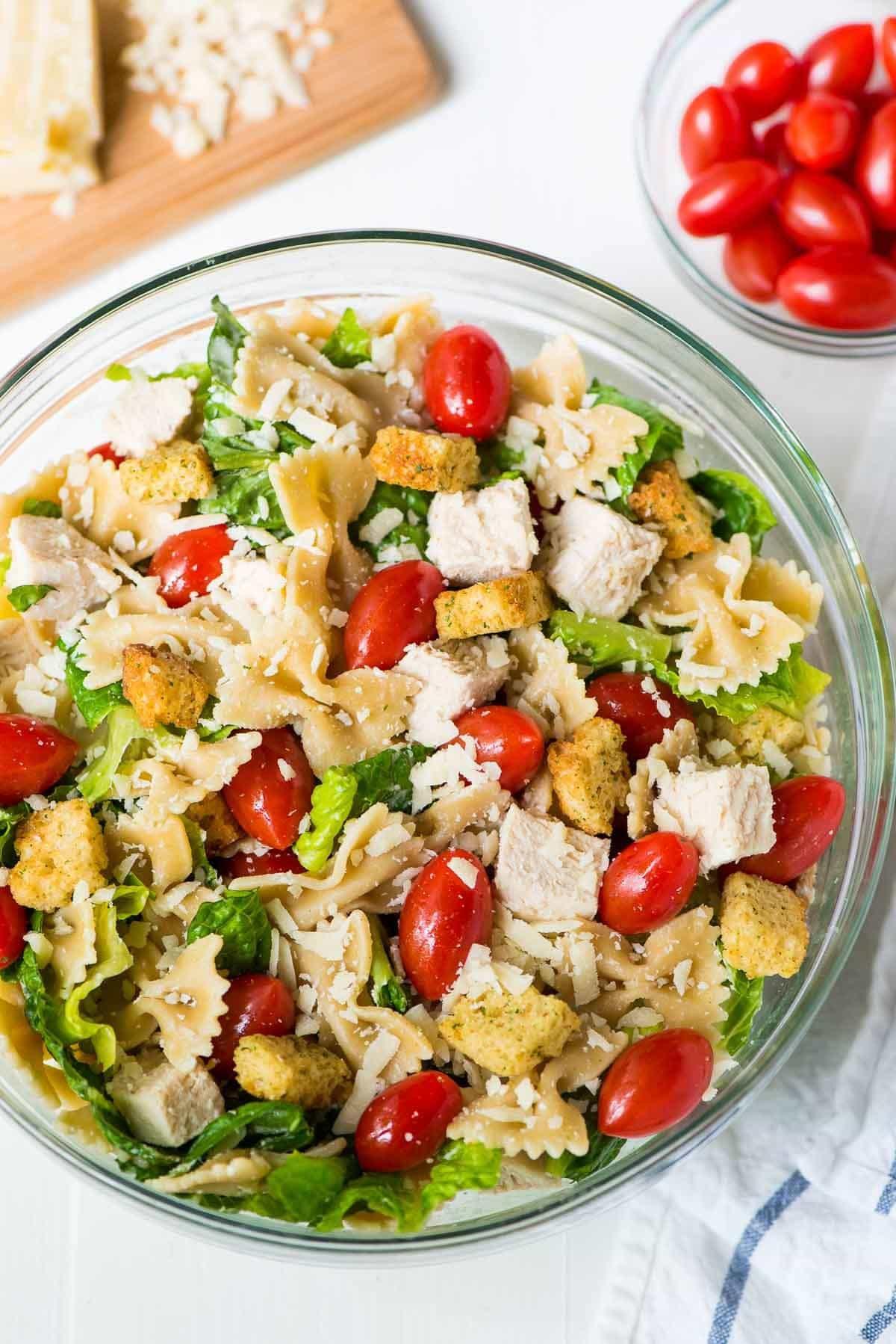 Healthy Pasta Salad Recipes  Asian Noodle Salad with Creamy Peanut Dressing