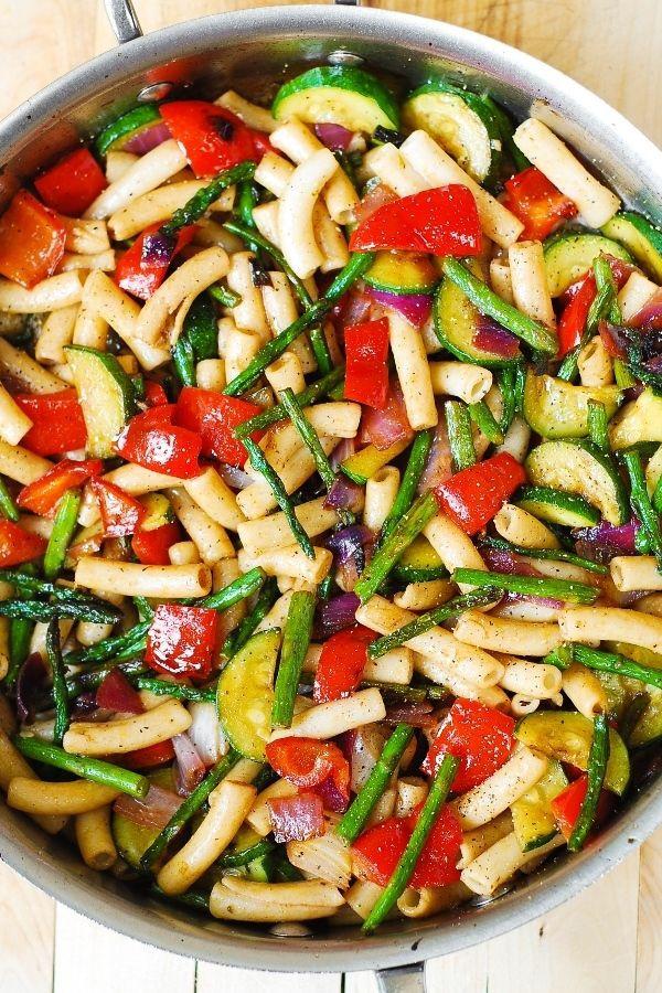 Healthy Pasta Salad Recipes  Grilled Veggie Pasta Salad Recipe