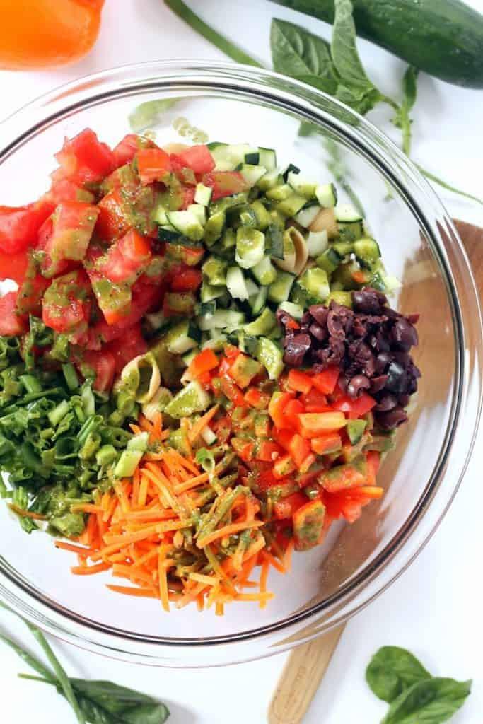 Healthy Pasta Salad Vegetarian top 20 Healthy Pasta Salad Vegan Hummusapien