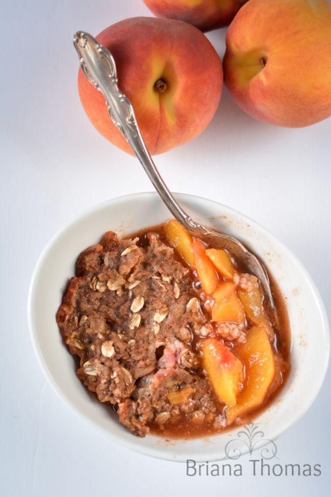 Healthy Peach Cobbler  25 best ideas about Healthy Peach Cobbler on Pinterest