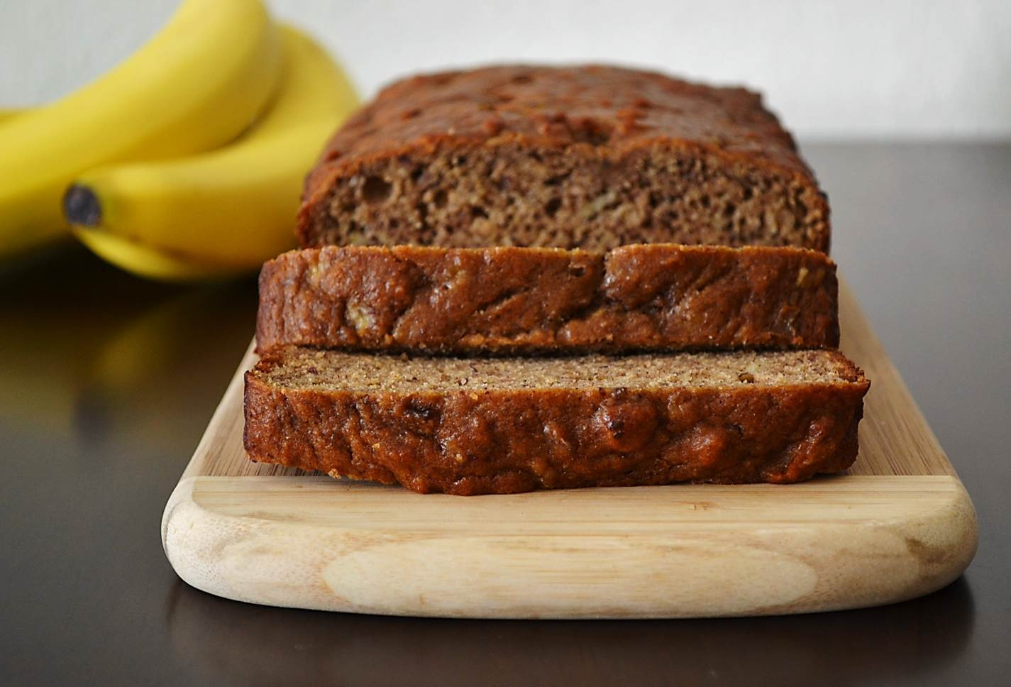 Healthy Peanut Butter Banana Bread  Healthy Peanut Butter Banana Bread