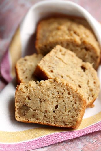Healthy Peanut Butter Banana Bread  Peanut Butter Banana Bread Skinny Chef