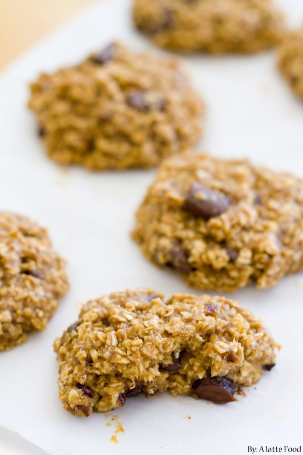 Healthy Peanut Butter Banana Cookies  Healthy Peanut Butter Banana Cookies