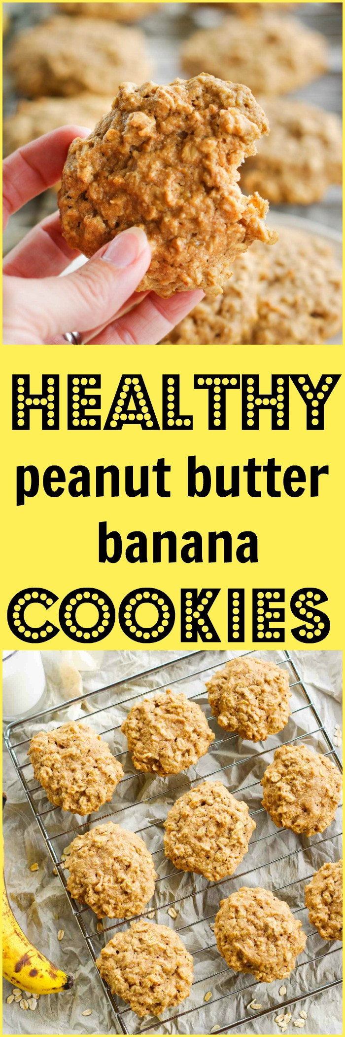 Healthy Peanut Butter Banana Cookies  Healthy Peanut Butter Banana Cookies – Dan330