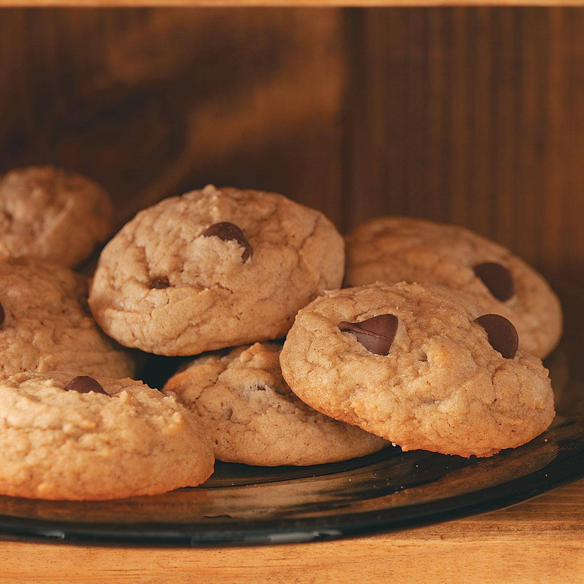 Healthy Peanut Butter Chocolate Chip Cookies  Healthy Peanut Butter Chocolate Chip Cookies Recipe