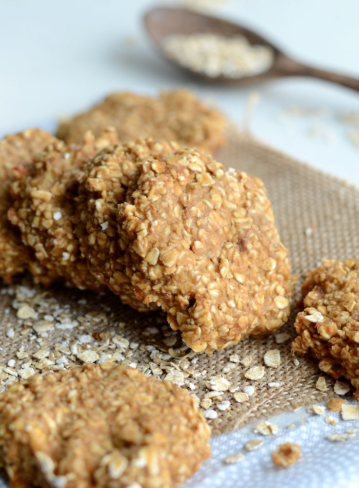 Healthy Peanut Butter Cookies 35 Calories  Healthy Peanut Butter Oatmeal Cookies