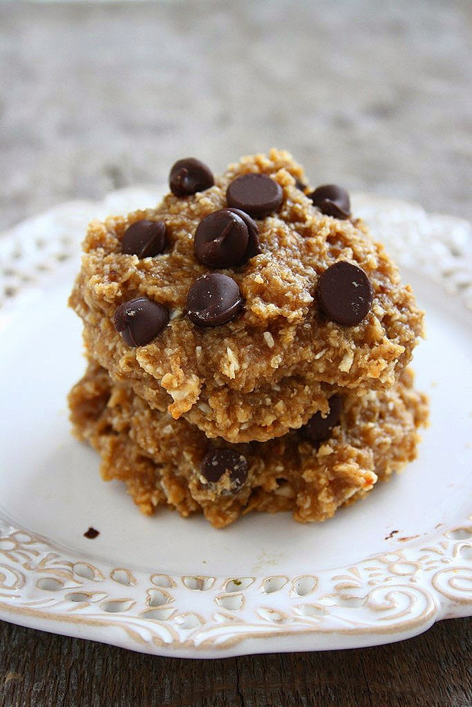 Healthy Peanut Butter Cookies No Sugar  collecting memories Soft Peanut Butter Banana Oatmeal