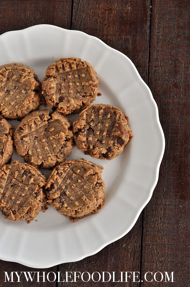 Healthy Peanut Butter Cookies No Sugar  Peanut Butter Cookies No Added Sugar My Whole Food Life