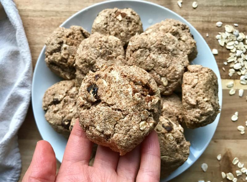 Healthy Peanut Butter Cookies No Sugar  Peanut Butter Oatmeal Raisin Cookies No Added Sugar