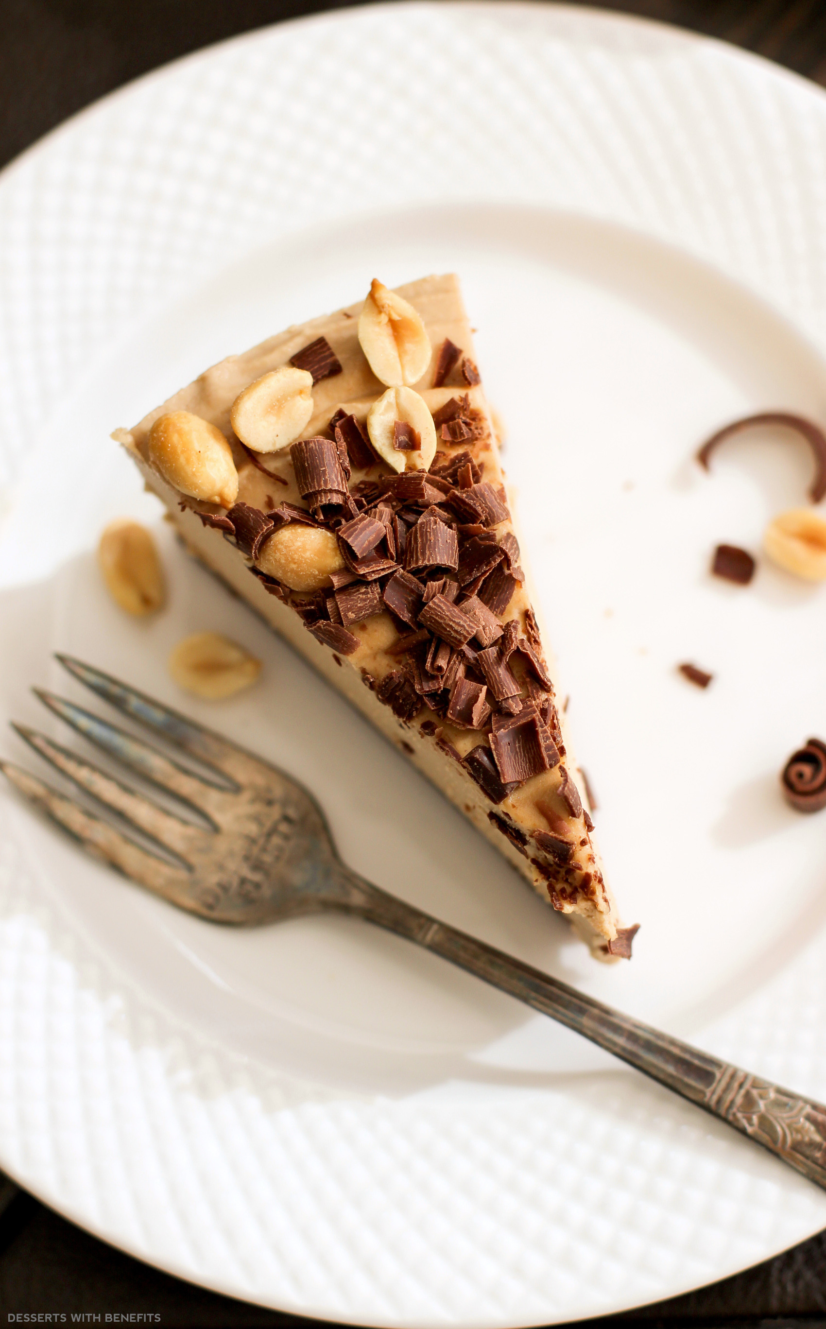 Healthy Peanut Butter Dessert Recipes  Healthy Chocolate Peanut Butter Raw Cheesecake