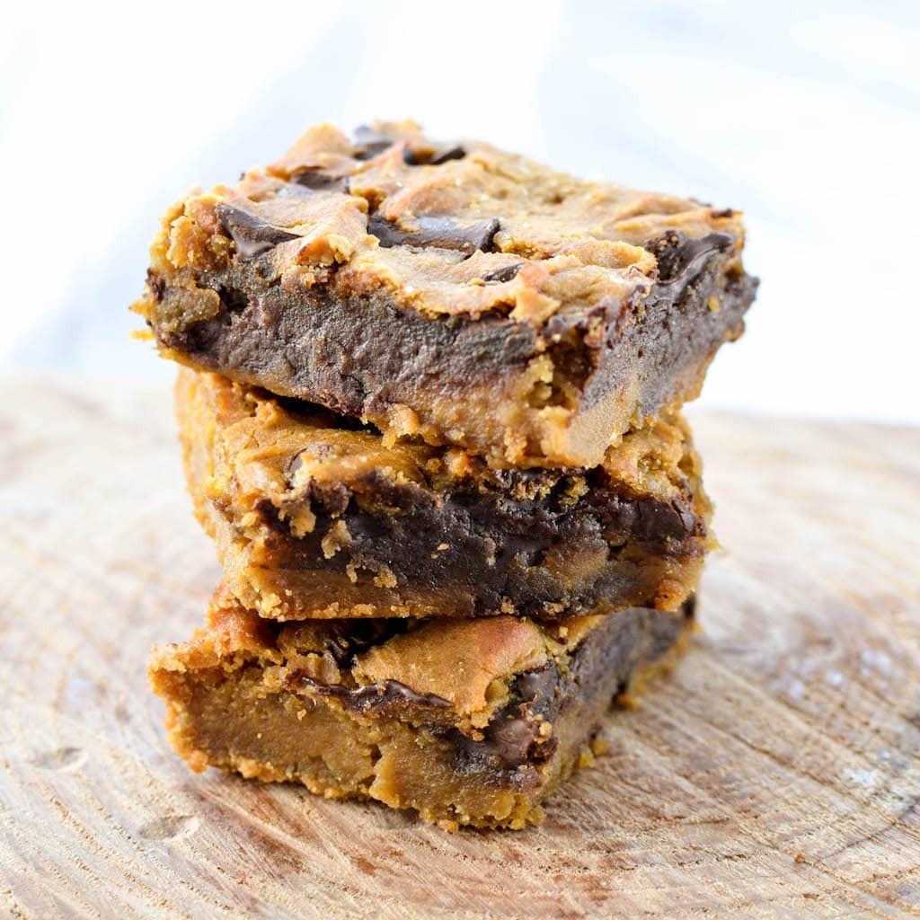 Healthy Peanut Butter Dessert Recipes  Healthy Peanut Butter Blon s & Video JoyFoodSunshine