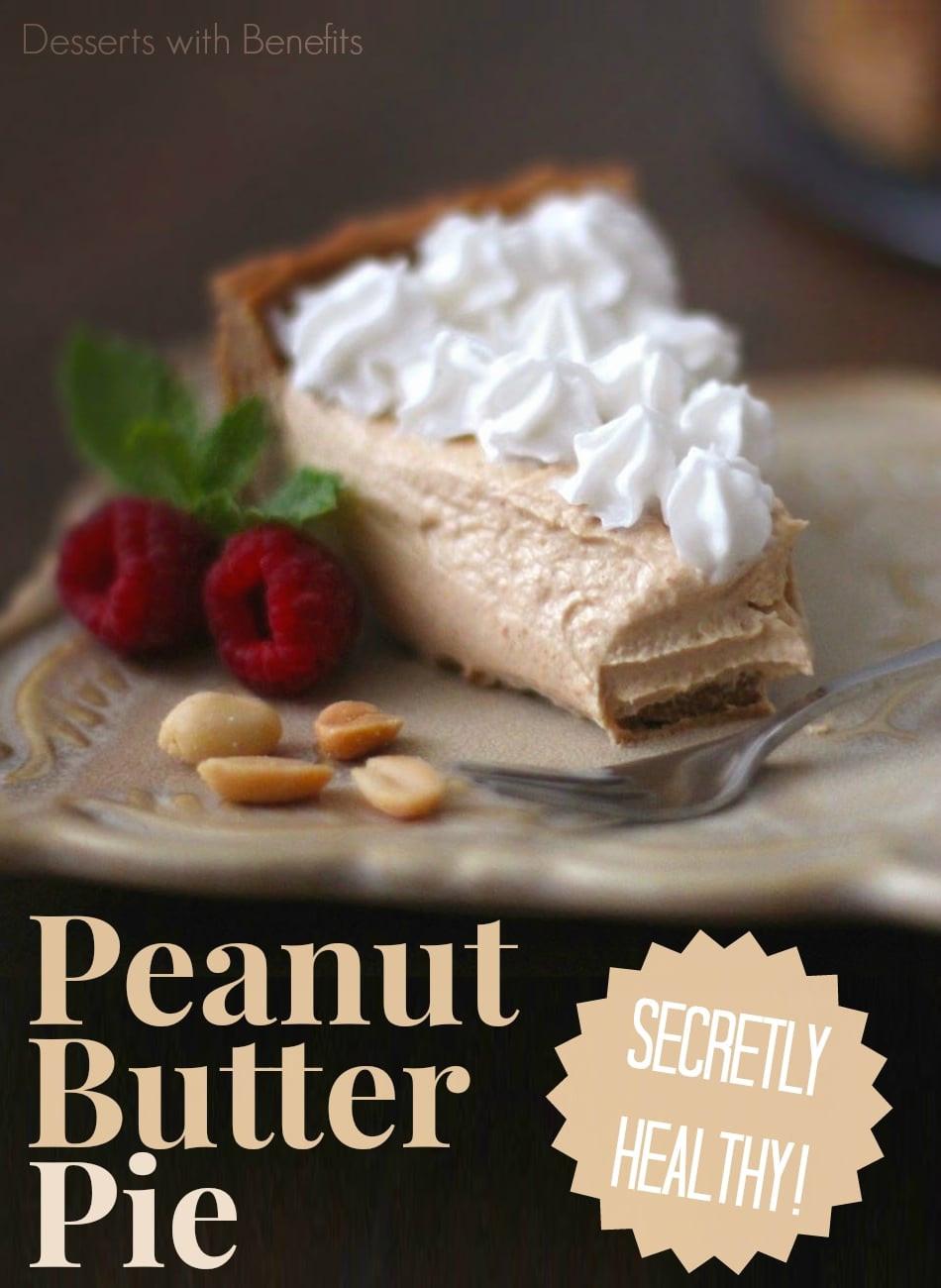 Healthy Peanut Butter Dessert Recipes  Desserts With Benefits Healthy Peanut Butter Pie