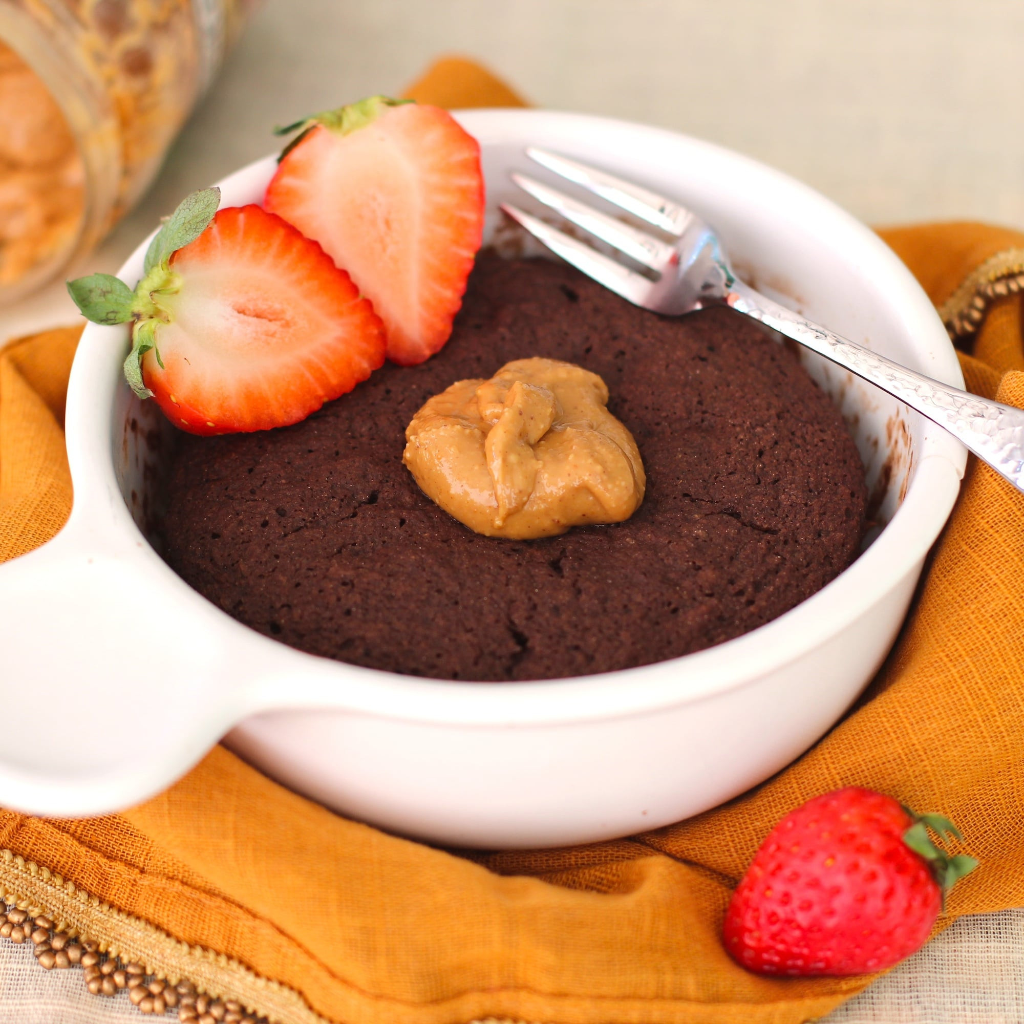 Healthy Peanut Butter Dessert Recipes  Desserts With Benefits Healthy Single Serving Chocolate