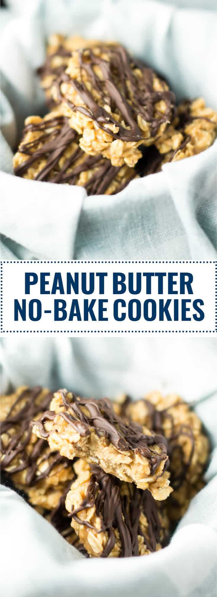 Healthy Peanut Butter No Bake Cookies  Healthy Peanut Butter No Bake Cookies Recipe vegan