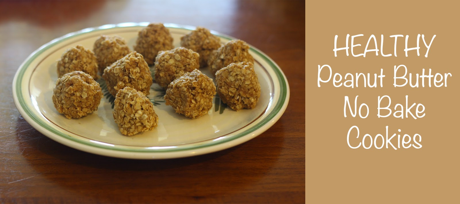 Healthy Peanut Butter No Bake Cookies  Healthy Peanut Butter No Bake Cookie Recipe Skinny Latte