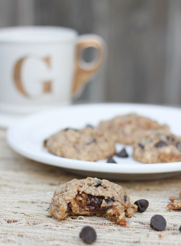 Healthy Peanut Butter Oatmeal Chocolate Chip Cookies  Healthy Oatmeal Peanut Butter Chocolate Chip Cookies