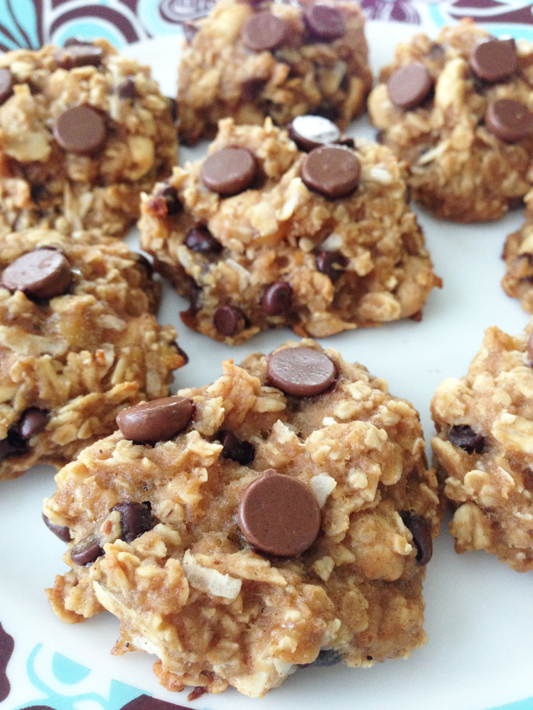 Healthy Peanut Butter Oatmeal Chocolate Chip Cookies  Healthy Peanut Butter Oatmeal Cookies – What2Cook